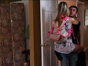 Stunning Staci Silverstone with James Deen in Stepmother