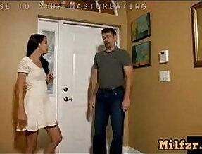 Alina fucks step daddy