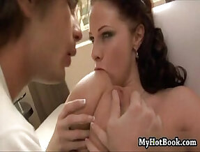 Gianna Michaels is a special girl plays with a pair of