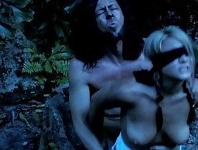 Veronika Raquel getting her ass fucked by a werewolf