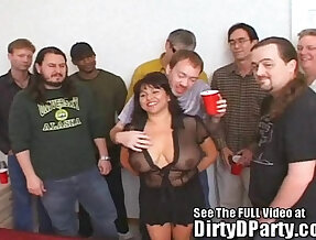 Susies Gang Bang on camera With Dirty D