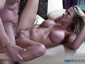 Cockriding milf facialized and pussyfucked