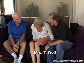Blonde teen Slut Mrs. Wolf Abused