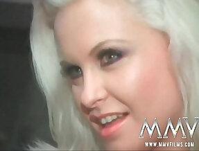 MMV Films German super star Dolly Golden gives blowjob