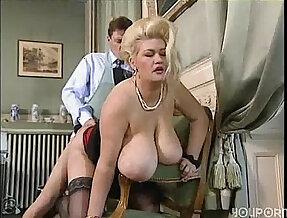 Big tit blonde milf gets good fucking