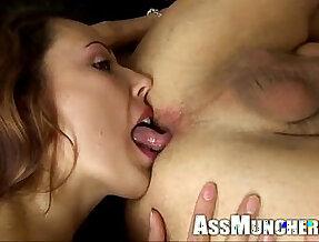Ass licking Action