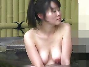 VoyeurTugaPT - Some big nipples in spring bath (Not mine)