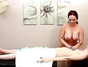 Angelic Lianna Lawson Jerked Off By Redhead Masseuse