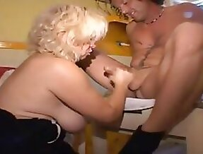 Mommy turns her Not Daughter into a Whore 9